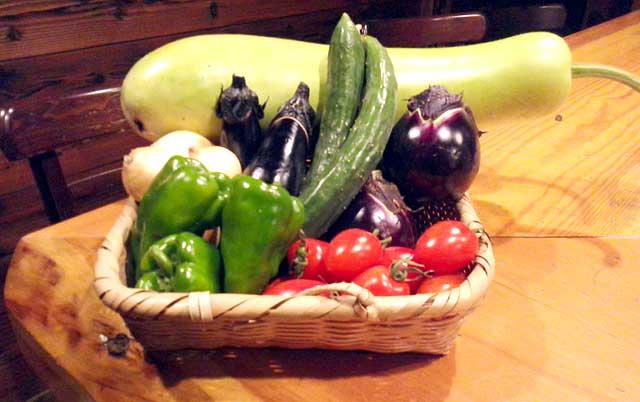 地場産「新鮮野菜」入荷いたしました。